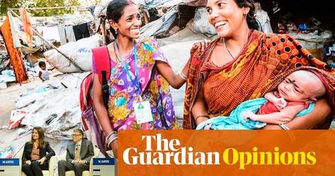 Die weltweite Armut sinkt, sagt Bill Gates –und liegt damit völlig falsch