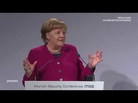 Angela Merkels (vielleicht historische) Rede auf der Münchner Sicherheitskonferenz