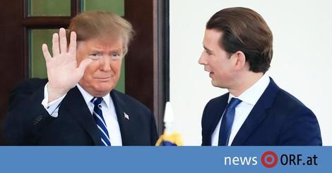 Warum Trump auf Kurz setzt