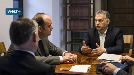 Die Logik von Bedrohung und Schutz – Orbán im Interview.