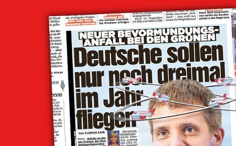 """Wie sich Christian Lindner und """"Bild"""" auf die Grünen einschießen"""