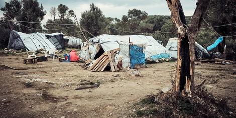 Das Flüchtlingscamp auf Lesbos: Europas Freiluftgefängnis