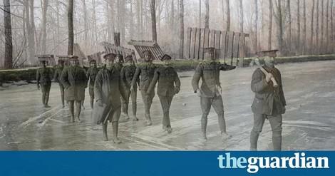 Interaktiv: Wie es im Ersten Weltkrieg an der Somme aussah und wie es dort heute aussieht