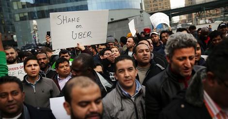 """Uber-Fahrer gründen eine Gewerkschaft der """"Selbständigen"""""""