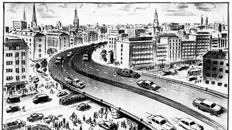Warum Hamburg nie eine Stadtautobahn bekam