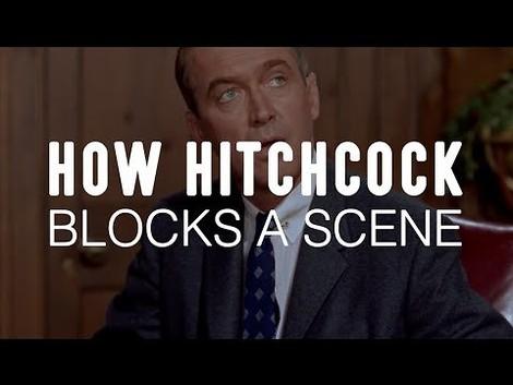 Wie Mr. Hitchcock eine Filmszene kreiert