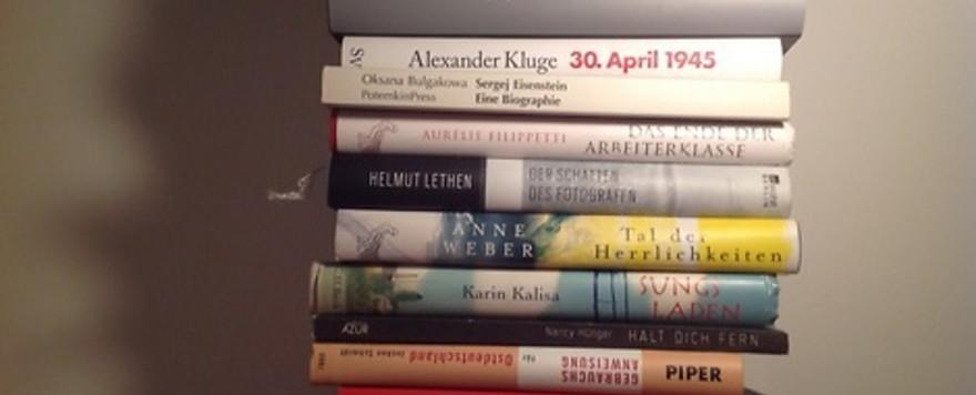 Bücher neben meinem Bett (Stapel 1)