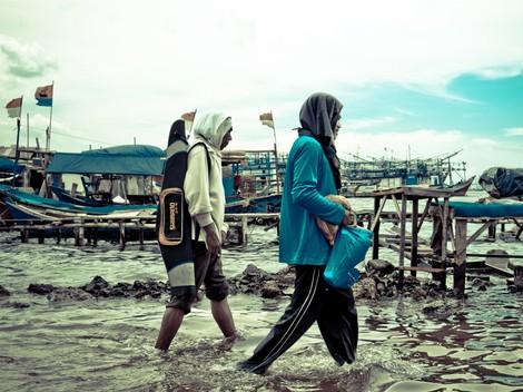 Jakarta droht im Meer zu versinken - piqd-Hintergrund September ist online