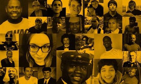 Tödlich: Menschen, die bei Einsätzen der US-Polizei im Jahr 2015 getötet wurden