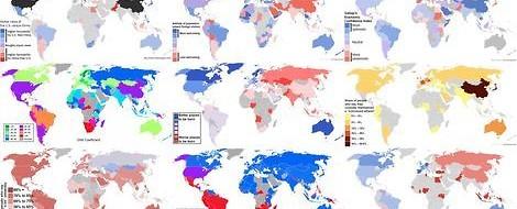 Warum fehlt Zentralafrika auf so vielen Karten?