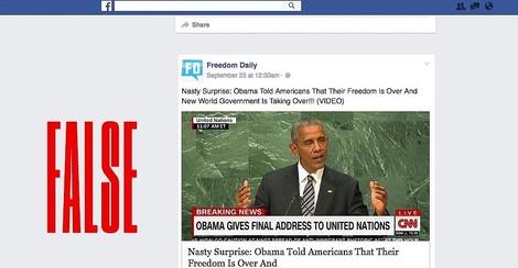 38 Prozent aller Facebook-Posts der (extremen) US-Rechten enthalten Lügen. Sie erreichen Millionen.