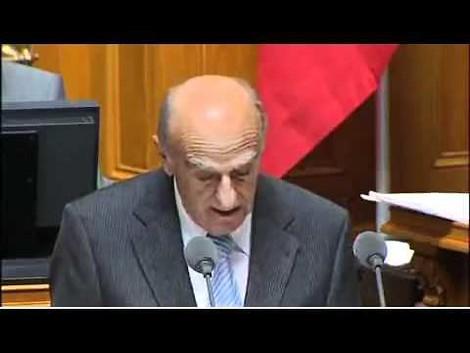 Bündnerfleisch und der Lachanfall des Schweizer Finanzministers