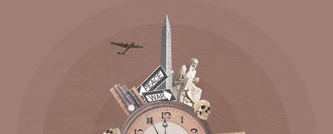 Sorry für den Genozid – Künstler strahlen Lichtbotschaft an das Kanzleramt