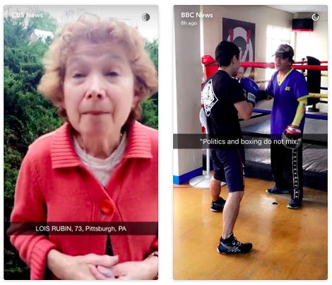 Online-Journalismus-Guru erklärt Snapchat
