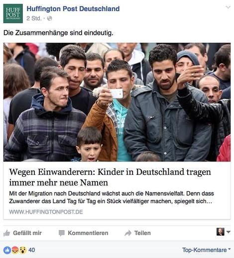 Europa und Geflüchtete bringen Klicks - und für die tun viele so einiges