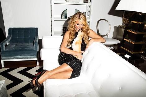Paris Hilton ist #blessed