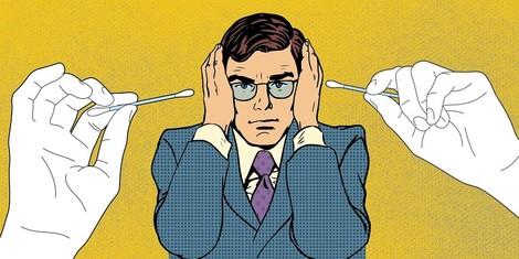 Wie die Q-Tips in die Ohren kamen