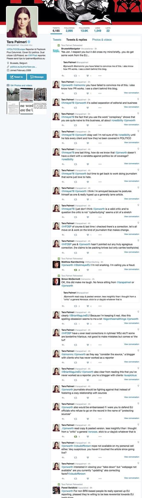 Was einem EU-Blogger geschah, als er Politico.eu kritisierte und so ins Wespennest stach...