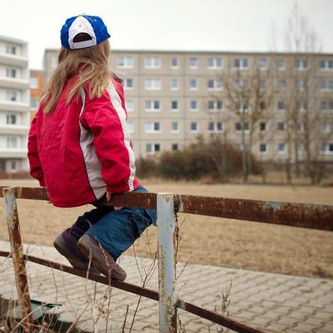 Straßenkinder in Leipzig