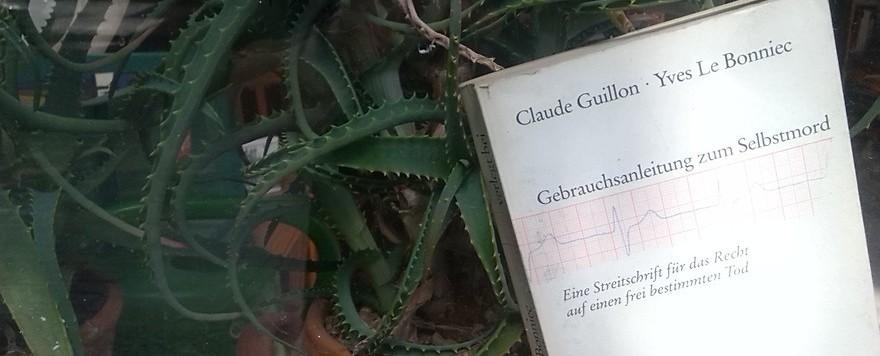 """Mein kleiner Buchladen: """"Verbotene Bücher"""" - Gebrauchsanleitung zum Selbstmord"""