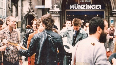 Freizeit 81: Als München noch Nietengürtel kannte