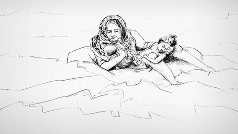 20 Minuten Zeit? Was es heisst, das Sinken eines Flüchtlingsboots zu überleben.