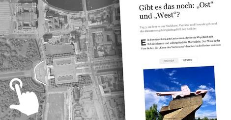 Eine Reise durch die Stadt. Der Berliner Mauerweg – interaktiv und mit dem Fahrrad.