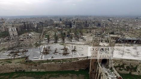 Wie der Krieg das alte Syrien zerstört