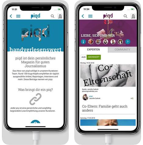 piqd auf allen Kanälen – ein Überblick über unsere Angebote