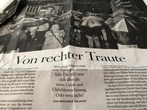 """Medien und Rechtsruck: Die Verantwortung der """"Zeit"""""""