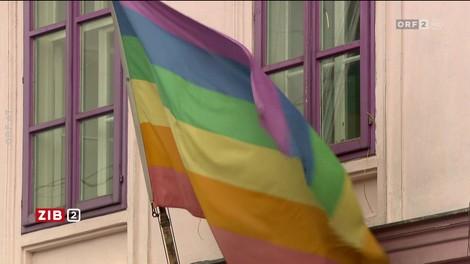 Farben der Regenbogenfahne: entscheidend fürs Asylverfahren