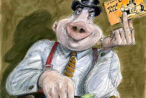 Wie Banken Rohstoffe künstlich knapp halten