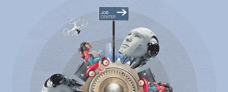 Merkmale des letzten Jahrhunderts in Unternehmen: Jahresbericht, Mitarbeitergespräch und Hierarchie