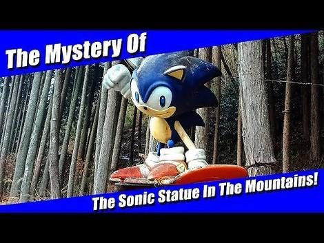 Das Geheimnis einer riesigen Sonic-Figur in den japanischen Bergen