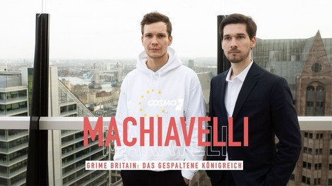 """Podcasterinnen empfehlen Podcasts #8 mit Jan Kawelke und Vassili Golod von """"Machiavelli"""""""