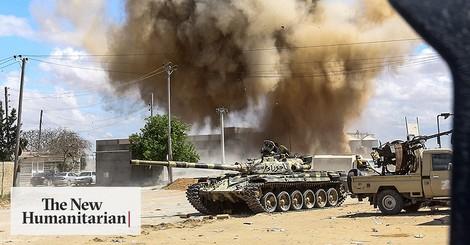 Vom Transit zur Falle: Flüchtlinge gefangen in Libyens neuem Bürgerkrieg