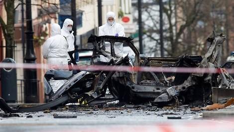 Tag der Trauer – die Gewalt in Nordirland eskaliert