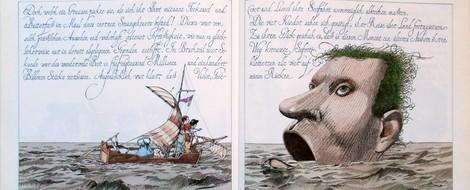 """Kinderbücher 16: """"Die Geschichte von den vier kleinen Kindern, die rund um  die Welt zogen"""""""