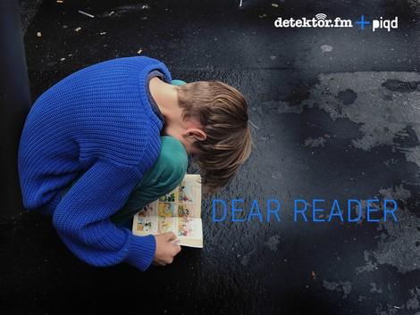 Dear Reader – der Literatenfunk #7 Zu Gast: Samo Tomšič