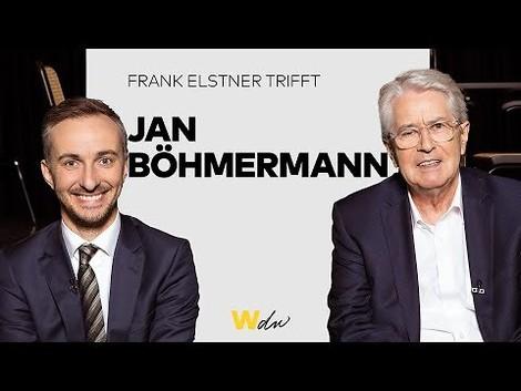 Frank Elstner trifft Jan Böhmermann und führt ein richtig gutes Interview