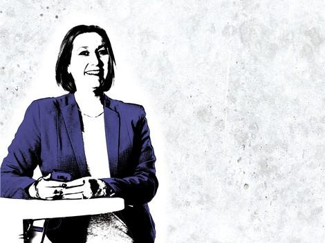 Julia Bönisch muss bei der SZ auch Managerin sein – doch ein Teil der Branche versteht das nicht
