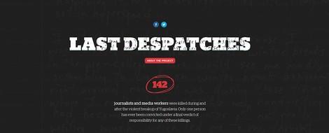 Medien und Krieg: Die 142 getöteten Journalist*innen der Jugoslawienkriege und ihre Geschichten