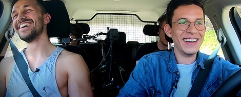 SWR Heimat Taxi: Ein Veganer über Kraftsport, Ernährung und Klischees.