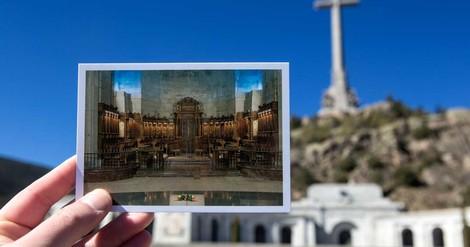 Ein Besuch am Grab des spanischen Diktators Franco