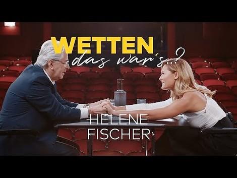 Helene Fischer packt aus. Aber was eigentlich?