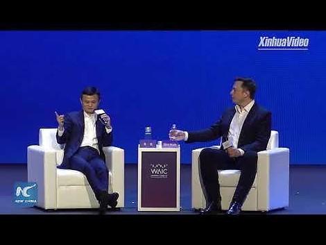 Über clevere Maschinen und smarte Menschen - ein Gespräch zwischen Elon Musk und Jack Ma