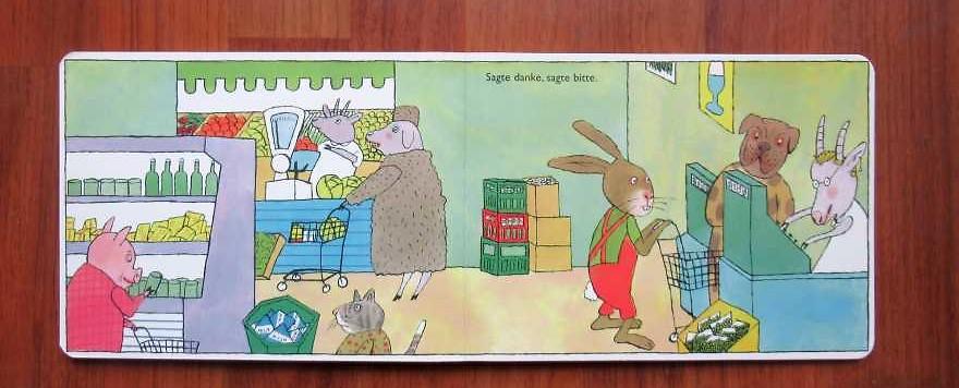 Kinderbücher 18: Häschen geht einkaufen