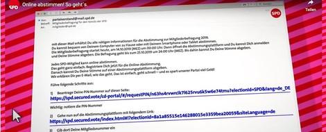 Die Online-Wahl der SPD-Chefs ist grob fahrlässig