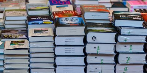 Weihnachtseinkäufe von Büchern