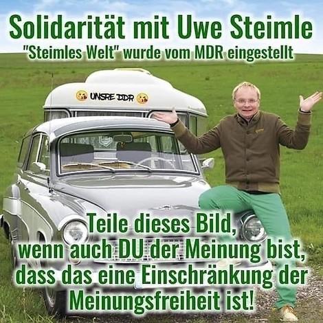 Uwe Steimle und der MDR: Es geht nicht um Meinungsfreiheit – und erst recht nicht um Zensur